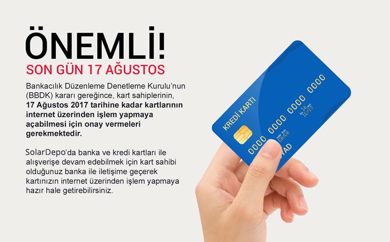 SON TARİH 17 AĞUSTOS! KREDİ KARTI BANKA KARTI ONAYLAMA